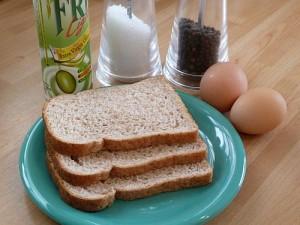 60g Wholemeal Bread Hexb 2 Eggs Salt And Pepper Fry Light