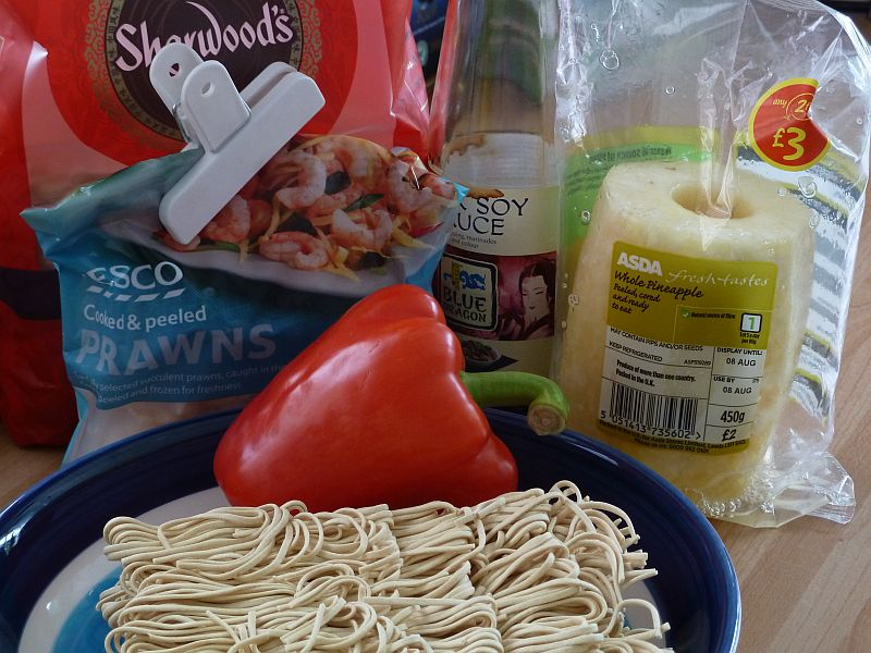 Prawn and Pineapple Noodles